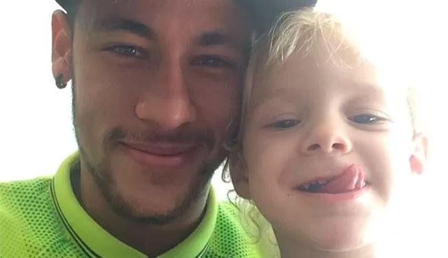 Neymar mostrou lado