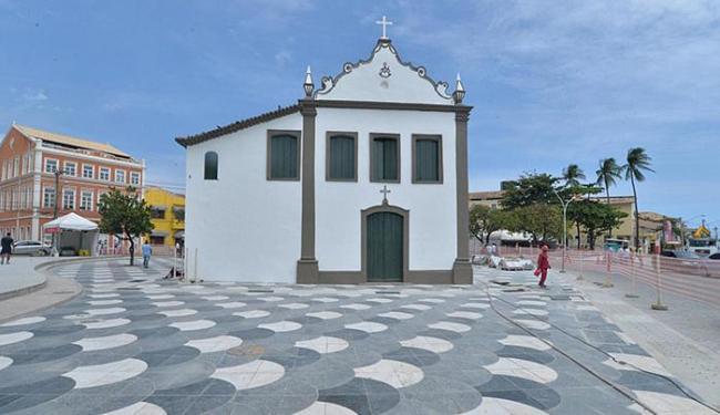 Largo de Santana recebeu novo piso - Foto: Max Haack l Agecom
