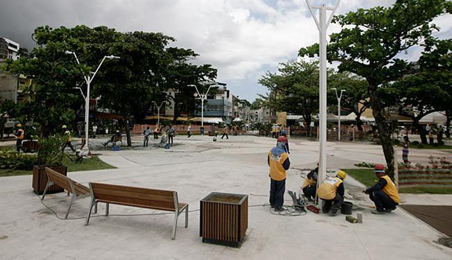 No Largo da Mariquita, as atrações musicais irão se apresentar num palco - Foto: Raul Spinassé | Ag. A TARDE