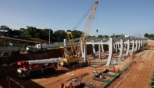 Obras do metrô na Avenida Paralela integram o PAC - Foto: Mila Cordeiro l Ag. A TARDE