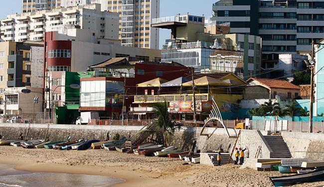O ponto volta a funcionar com fim de etapa das obras de requalificação; não há previsão de data - Foto: Fernando Vivas | Ag. A TARDE