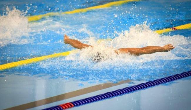 Neste lote já estão esgotados os bilhetes para as finais da natação - Foto: Sargento Johnson Barros   Ministério da Defesa   Agência Brasil