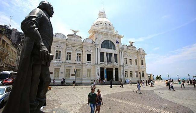 O Palácio Rio Branco abriga a Secult-BA e um museu - Foto: Joa Souza | Ag. A TARDE