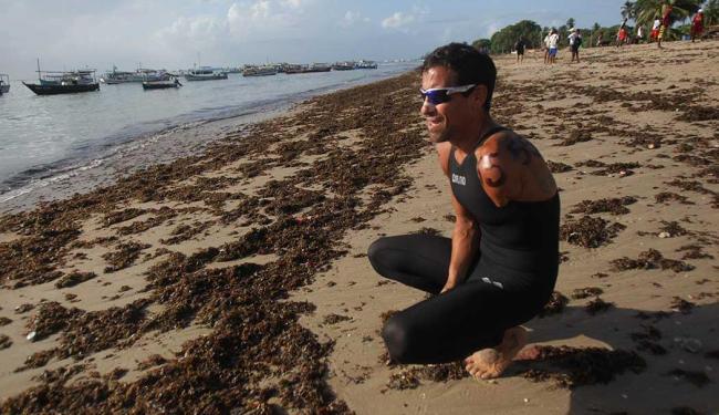 Nadador chegou em 76º lugar - Foto: Lúcio Távora  Ag. A TARDE