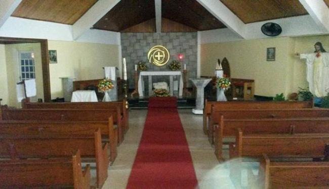 Foto da Paróquia Cristo Redentor antes de ter os ventiladores furtados - Foto: Reprodução | Facebook | Paróquia Cristo Redentor