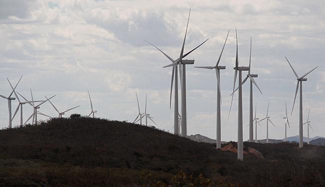 No estado, a Enel já conta com 18 usinas eólicas, o equivalente a 554 MW - Foto: Joá Souza   Ag. A TARDE