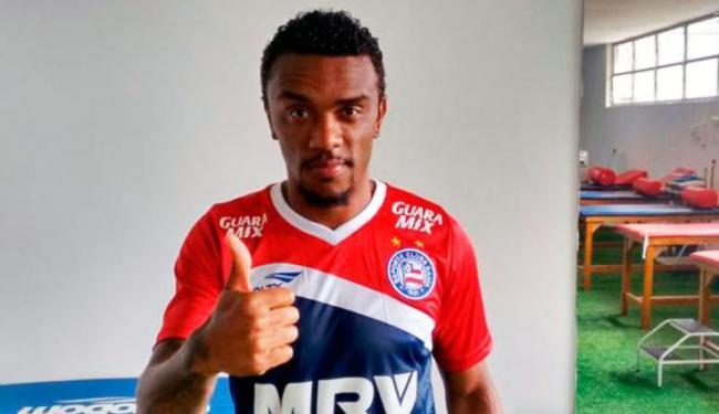Paulo Roberto assinou contrato de um ano com tricolor baiano - Foto: Divulgação   Esporte Clube Bahia