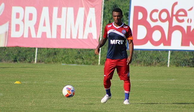 Paulo Roberto foi titular no seu primeiro treino em campo - Foto: Divulgação l EC Bahia