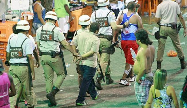 Segurança foi o melhor serviço da festa, segundo voto de internautas em 2015 - Foto: Joá Souza l Ag. A TARDE l 26.02.2015