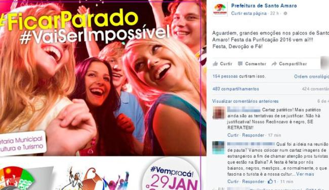 Cartaz da Lavagem da Purificação foi divulgado na terça-feira, 12 - Foto: Reprodução | Facebook
