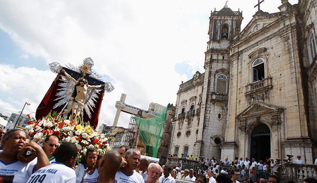 Tradicional celebração em homenagem a Bom Jesus dos Navegantes marca o início de 2016 - Foto: Joá Souza   Ag. A TARDE