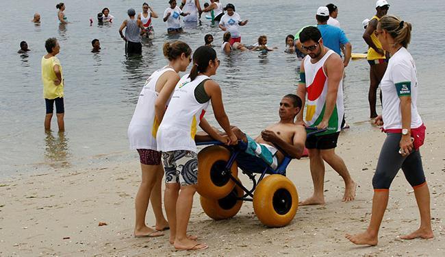 Em janeiro, o projeto será realizado em Ondina. Já em fevereiro, será na praia da Ribeira (foto) - Foto: Luciano da Matta | Ag. A TARDE