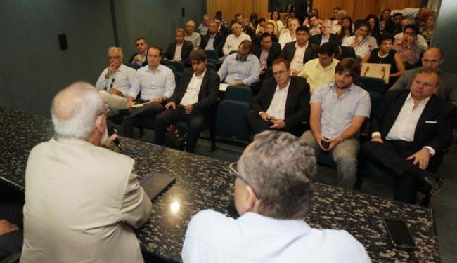 O projeto foi apresentado a um grupo de empresários nesta sexta-feira - Foto: Elói Corrêa | GOVBA