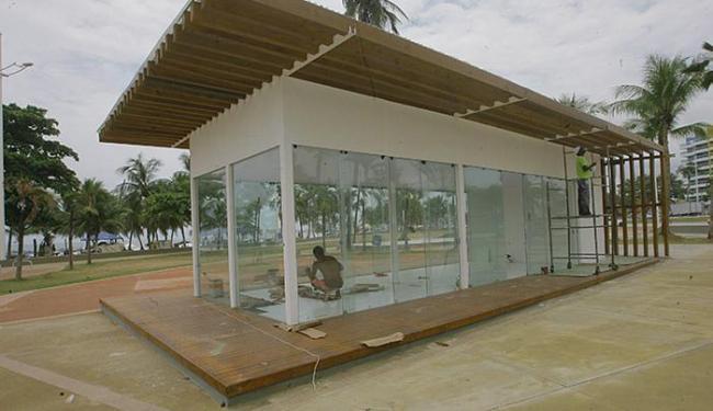 Quiosque em Piatã recebe intervenções e não tem previsão de abertura - Foto: Adilton Venegeroles l Ag. A TARDE