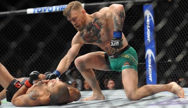 Brasileiro perdeu luta para o falastrão McGregor no fim do ano passado - Foto: Gary A. Vasquez   USA TODAY Sports