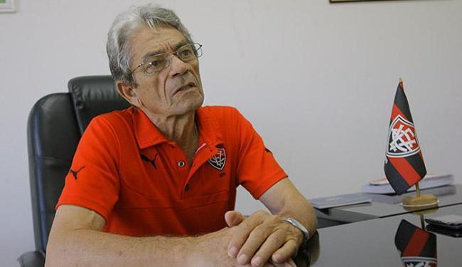 Presidente do Vitória, Raimundo Viana, terá que publicar documneto no site oficial do clube - Foto: Margarida Neide | Ag. A TARDE