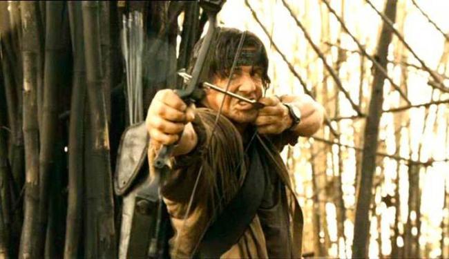 Rambo IV foi o último filme com o personagem - Foto: Divulgação
