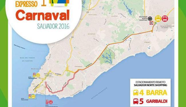 Ônibus vão deixar Salvador Norte para a Barra e para Garibaldi - Foto: Reprodução / Agecom