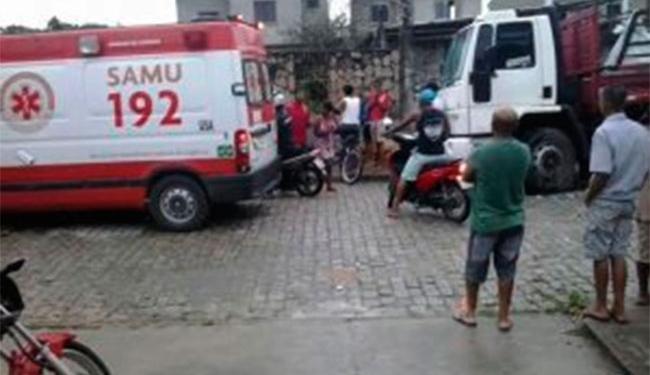 Samu foi acionada, mas já encontrou vítima morta - Foto: Reprodução | Acorda Cidade