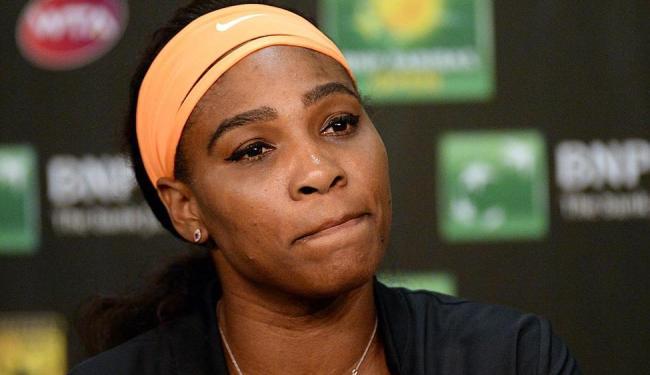Serena relatou que a desistência é preventiva e que a inflamação não deve preocupar a longo prazo - Foto: Ag. Reuters
