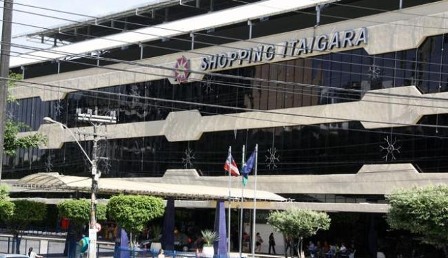 Assalto ocorreu na manhã desta quarta-feira, 13, no Shopping Itaigara, em Salvador - Foto: Joá Souza | Ag. A TARDE