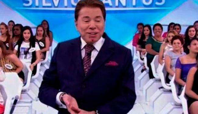Silvio levou o acidente na brincadeira - Foto: Reprodução | SBT