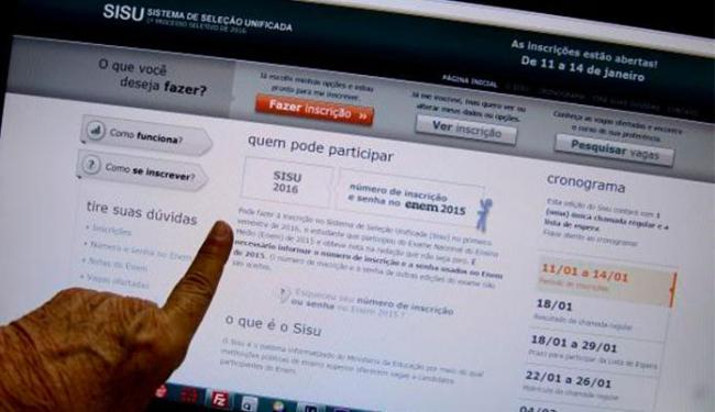 Aqueles que não foram selecionados na primeira opção de curso poderão participar da lista de espera - Foto: Elza Fiuza | Agência Brasil