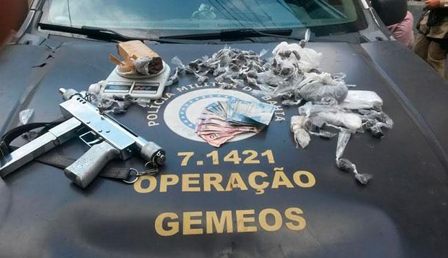 Os menores foram conduzidos à Delegacia para o Adolescente Infrator (DAI) - Foto: Divulgação | Polícia Militar