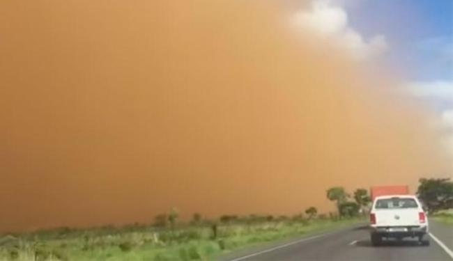 Tempestade atingiu Barreiras e Luís Eduardo Magalhães - Foto: Reprodução | Youtube