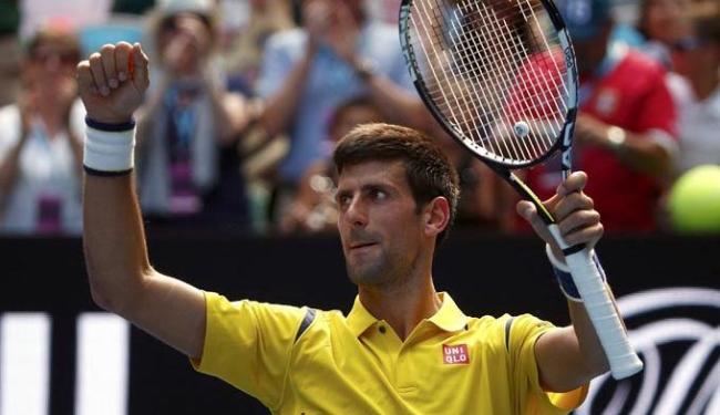 Djokovic terá pela frente como próximo adversário o francês Quentin Halys - Foto: Jason Reed | Agência Reuters