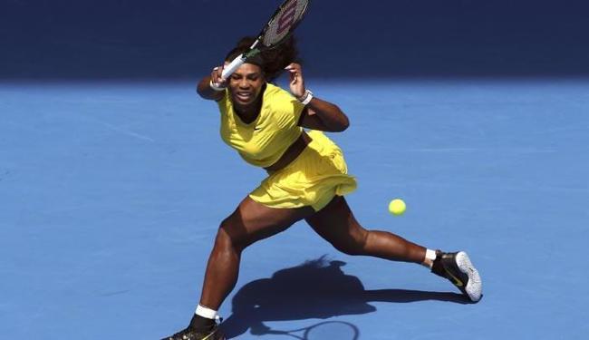 Ela espantou a desconfiança sobre ela, que não disputava uma partida oficial desde o US Open de 2015 - Foto: Jason O'Brien | Agência Reuters