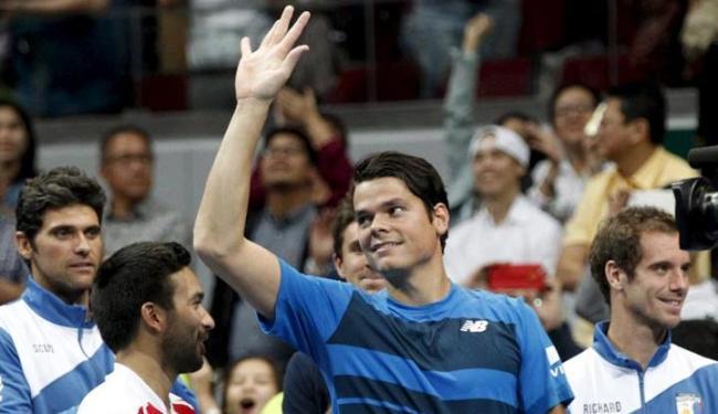 Esta foi a segunda vitória de Raonic em Abu Dhabi - Foto: Czar Dancel   Agência Reuters
