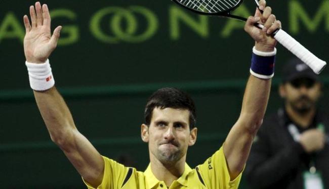 Ele levou a melhor vencendo por 2 sets a 0, com duplo 6/2 - Foto: Naseem Zeitoon | Agência Reuters