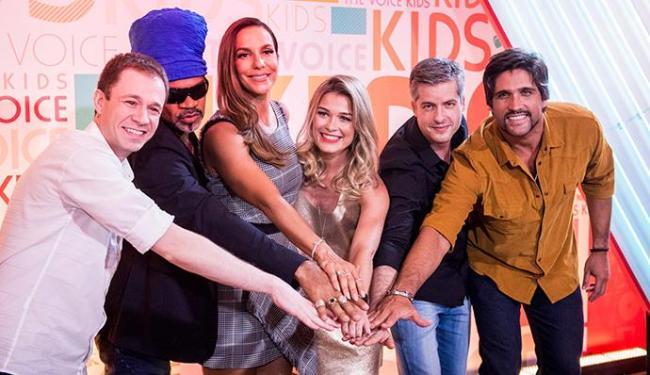 No comando: Leifert, Brown, Ivete, Kika Martinez, Victor e Leo - Foto: João Cotta | Divulgação