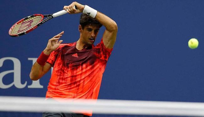 Eliminado nas duplas, Bellucci agora se concentra na chave de simples - Foto: Reuters