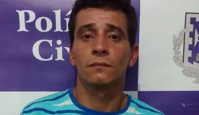 'Urtiga' já havia sido preso em 2009 e ficou sete anos cumprindo pena - Foto: Divulgação / Ascom Polícia Civil