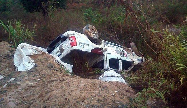 Pista molhada causou acidente, diz PM - Foto: Reprodução | Site / Bahia10