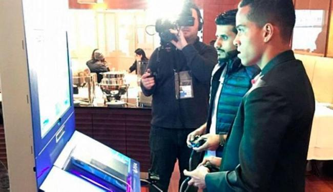 Com o Real Madrid, Wendell Lira venceu o Barcelona de Abdulaziz Alshehri por 6 a 1 - Foto: Divulgação