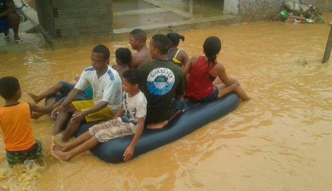 A cidade decretou situação de emergência desde a última quinta-feira, 28 - Foto: Reprodução | ireceon.com.br