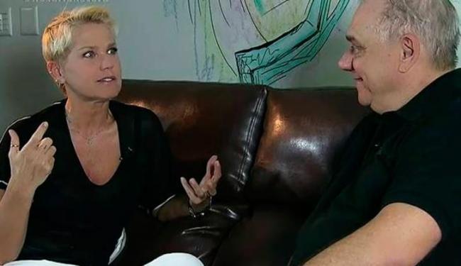 Xuxa desabafou durante conversa com Marcelo Rezende - Foto: Reprodução | Tv Record