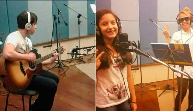 Yago e Yasmin gravaram com a mãe - Foto: Reprodução   Facebook