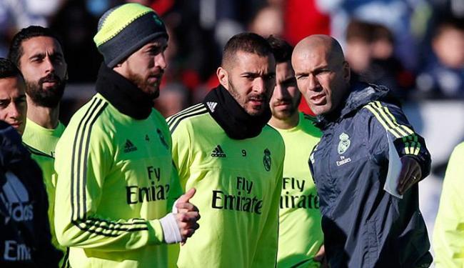 A estreia de Zidane como técnico do Real Madrid acontece neste sábado, 8 - Foto: Juan Medina l Reuters