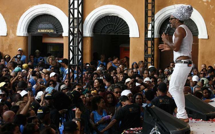 Brown se apresenta no dia 30/12, no pré-Réveillon do Armazém Hall com a banda Mukindala - Foto: Lúcio Távora | Ag. A TARDE