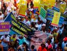 Protestos na Mudança do Garcia são contra politicos - Foto: Teófilo Henrique | Ag. A TARDE