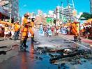 Ambulantes protestam novamente em circuito do Carnaval - Foto: Raul Spinassé | Ag. A TARDE