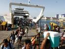 Retorno do feriado foi mais intenso nos terminais marítimos - Foto: Adilton Venegeroles l Ag. A TARDE