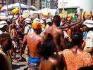 Ambulantes protestam contra apreensão de mercadorias - Foto: Cidadão Repórter | Via WhatsApp