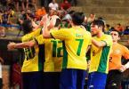 Seleção de futsal bate Uruguai na semi e se classifica para Mundial - Foto: Luis Domingues | CBFS | Divulgação