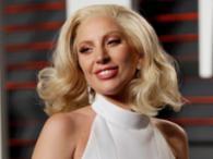 A cantora Lady Gaga apareceu mais natural na cerimônia - Foto: Reuters