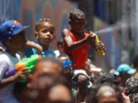 Os foliões do bloco Algodão Doce - Foto: Lúcio Távora | Ag. A Tarde